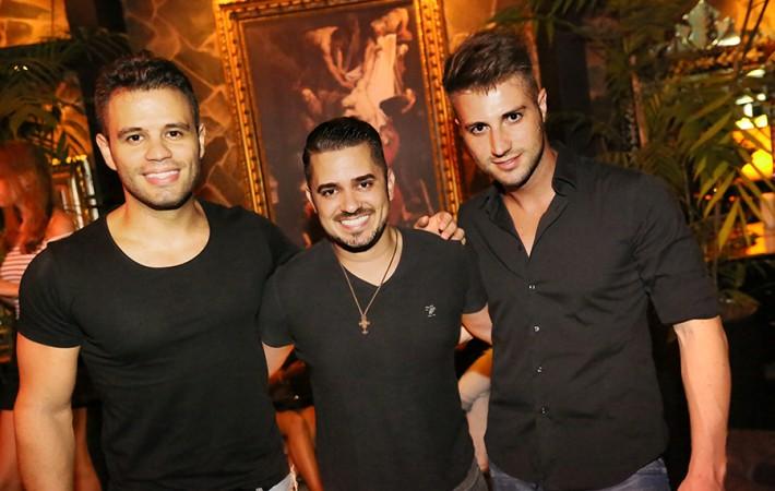 Fernando Lira,Elimar Oliveira e Marcelo Hoffmann