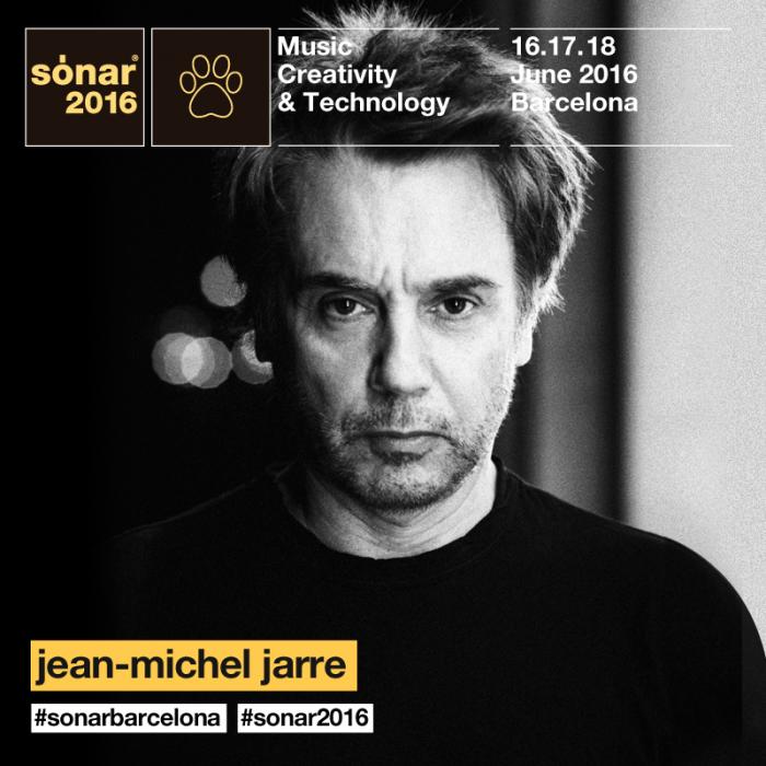 Jean Michel Jarre Sonar 2016