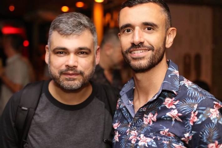 Leo Janeiro e Diogo Dreyer
