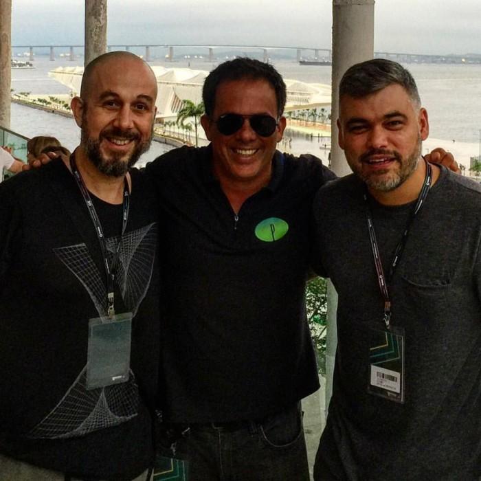 Andreson Noise, Octavio Fagundes grupo Privilege e Leo Janeiro