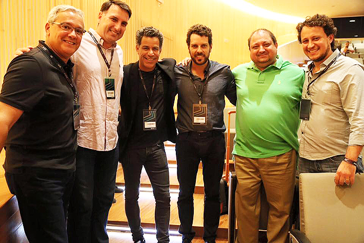 tem Calainho,Claudio-Rocha e Pedro Nonato e anfitriões RJ no RMC-2016