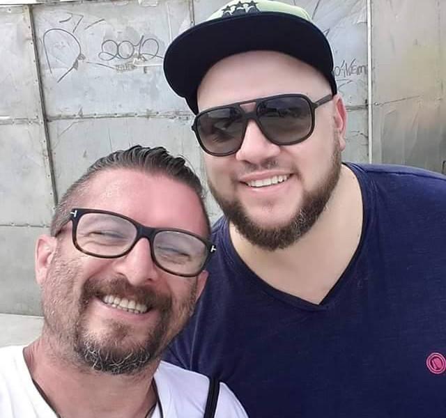 Valtinho Fragoso e Adriano Pagani Energia 97 FM e SFX Plus Talent