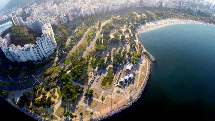Parque do Flamengo, Rio de Janeiro - com Drone 42