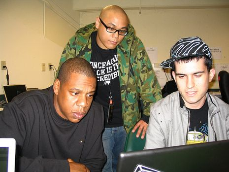 A-Trak com Jay Z