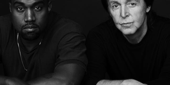 Kanye West e Paul McCartney