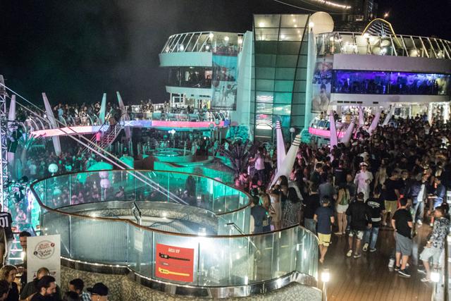 Night Party Jack Daniel´s no MSC Esplendida
