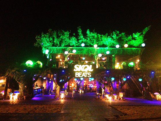 Skol Beats ação 2015 no Tomorrowland