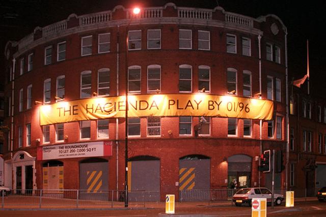club Haçienda, de Manchester, Inglaterra