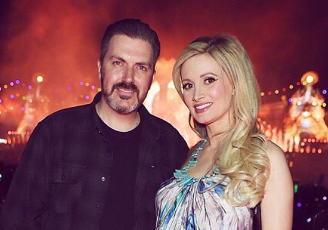 Pasquale Rotella e Holly Madison