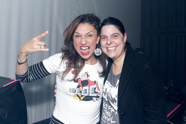 Claudia Assef e Bruna Monteiro