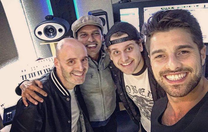Gino Martini, William Nayrane, Bruno martini e Alok