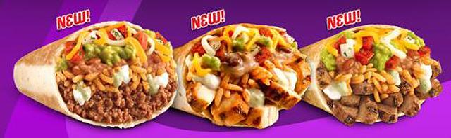 Taco Bell grelhado