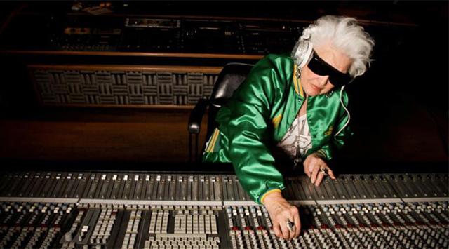 DJ Mamy Rock, em estúdio