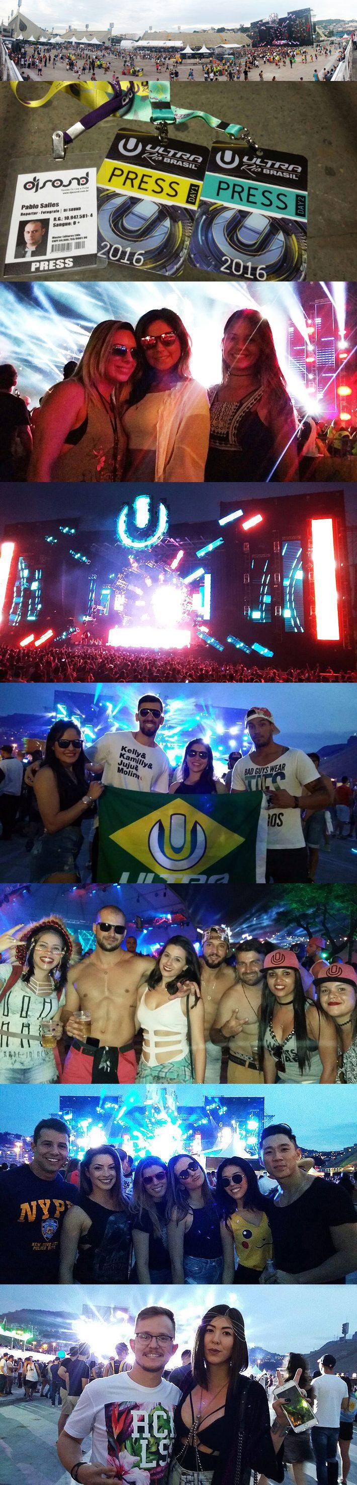 Ultra Brasil Rio 2016 no seu início em 14 out 2016 @ Sambodromo