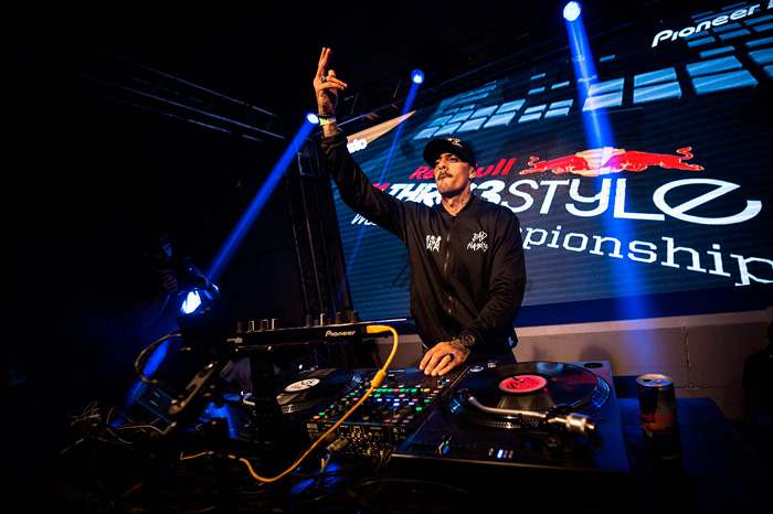 DJ A da banda Funkeando