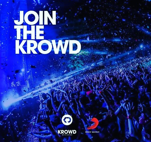 krowd e sony music